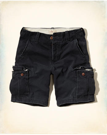 hol Hollister Classic Fit Cargo Shorts