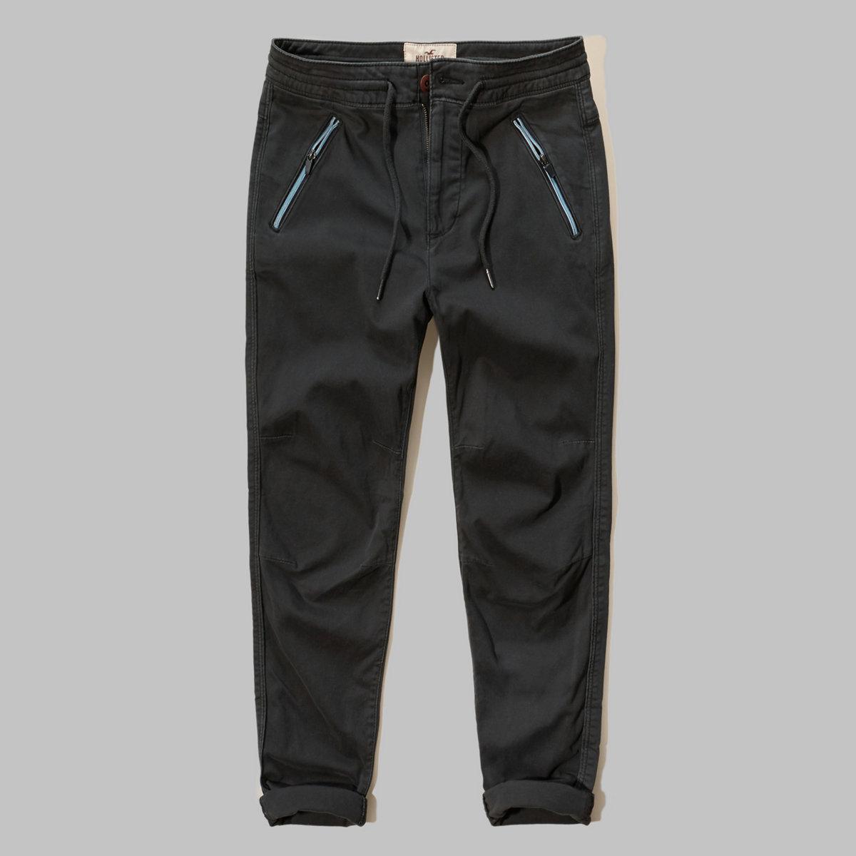 Hollister Hybrid Twill Jogger Pants