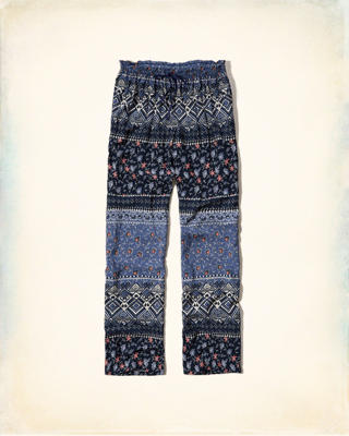 Gilly Hicks Patterned Sleep Pants