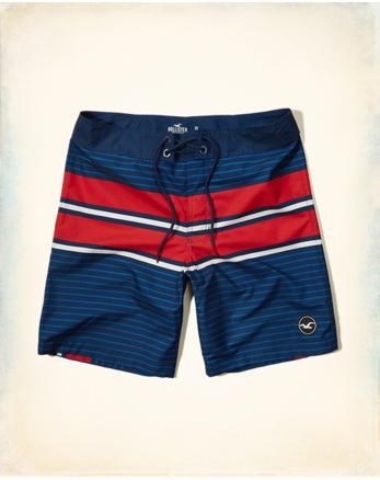 hol Patterned Logo Classic Fit Boardshort
