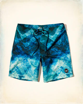 Patterned Classic Fit Boardshort