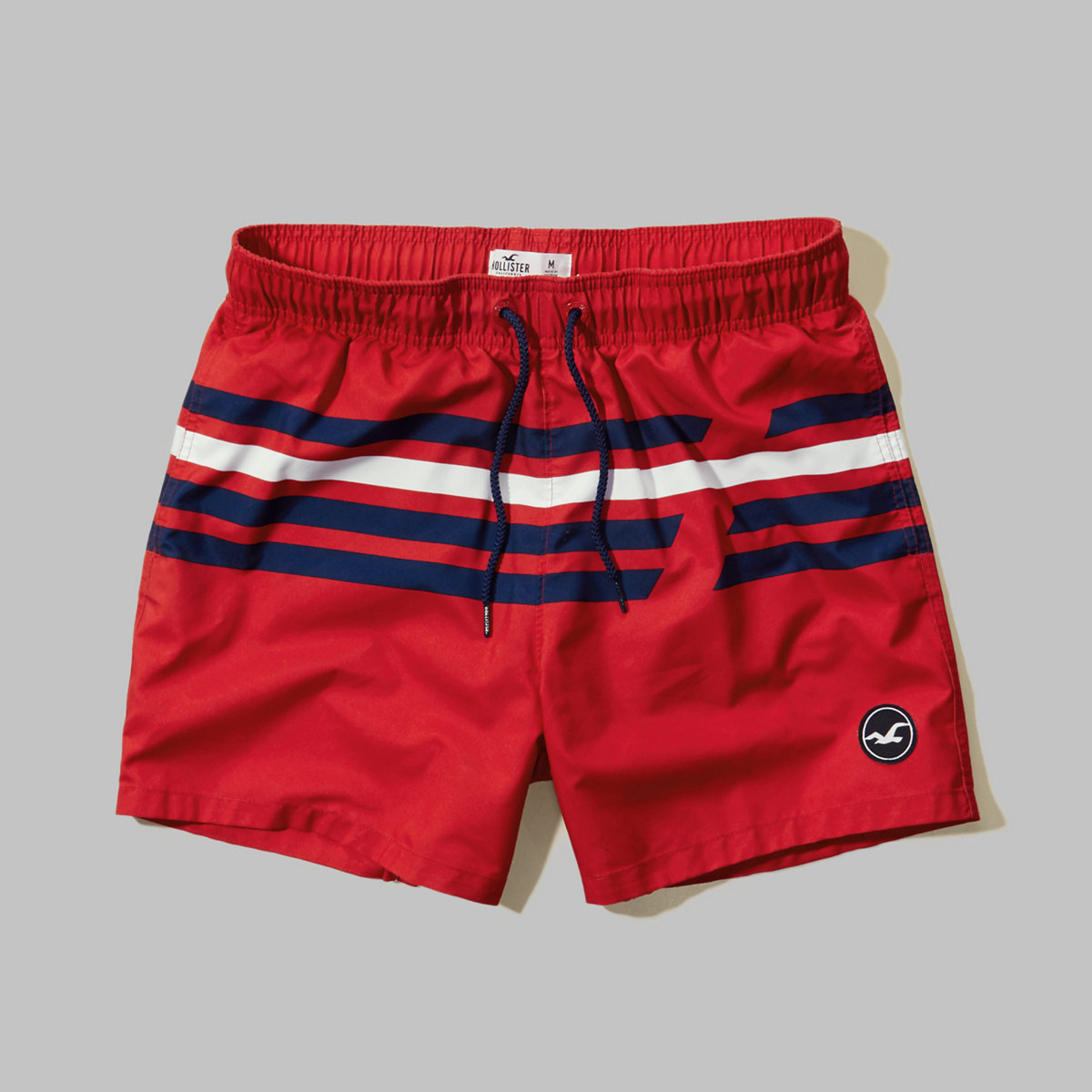 Stripe Guard Fit Swim Shorts