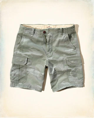 Hollister Classic Fit Cargo Shorts