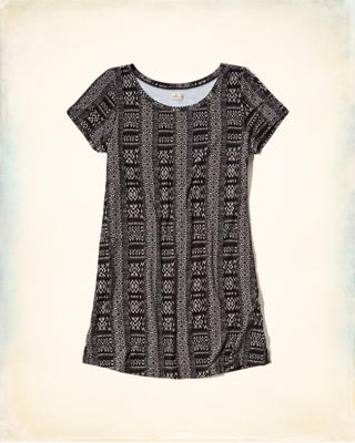 Knit T-Shirt Dress