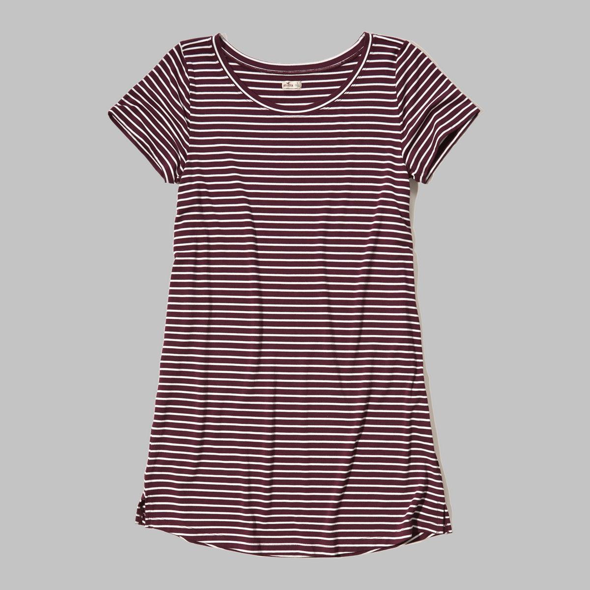 Knit T-Shirt Dress