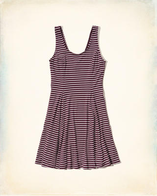 Scoopneck Knit Dress