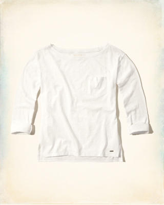 Boatneck Easy T-Shirt