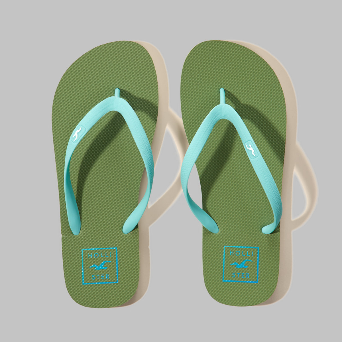 Rubber Icon Flip-Flops
