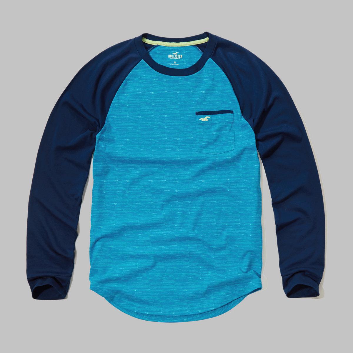 Colorblock Pocket T-Shirt
