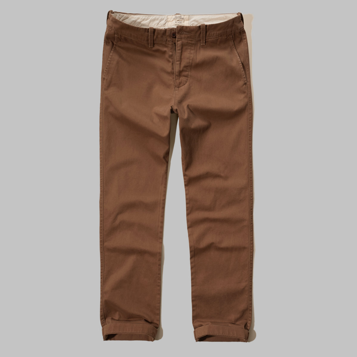 Hollister Classic Straight Zipper Fly Chinos