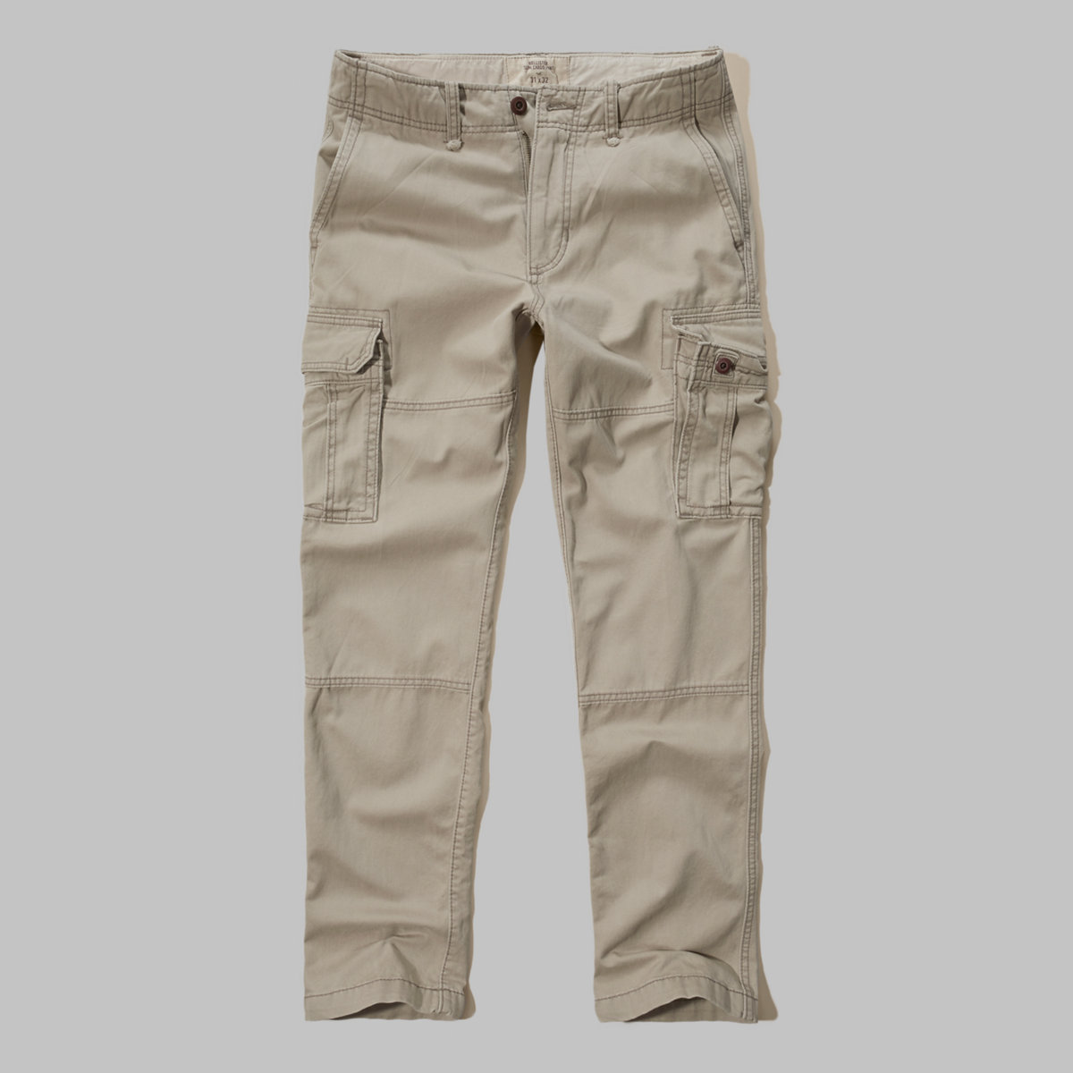 Hollister Slim Straight Cargo Pants