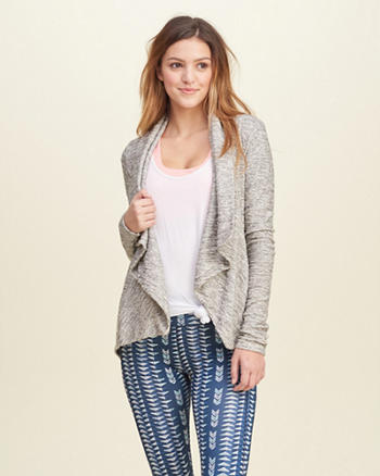 Terry Non-Closure Cardigan