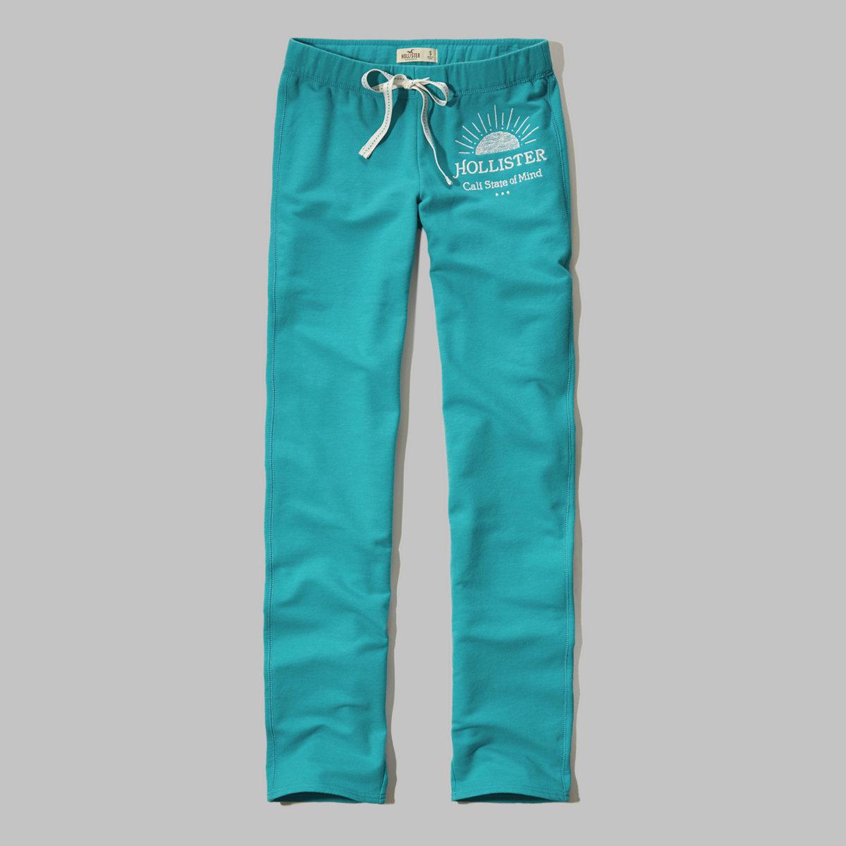 Hollister Skinny Graphic Sweatpants