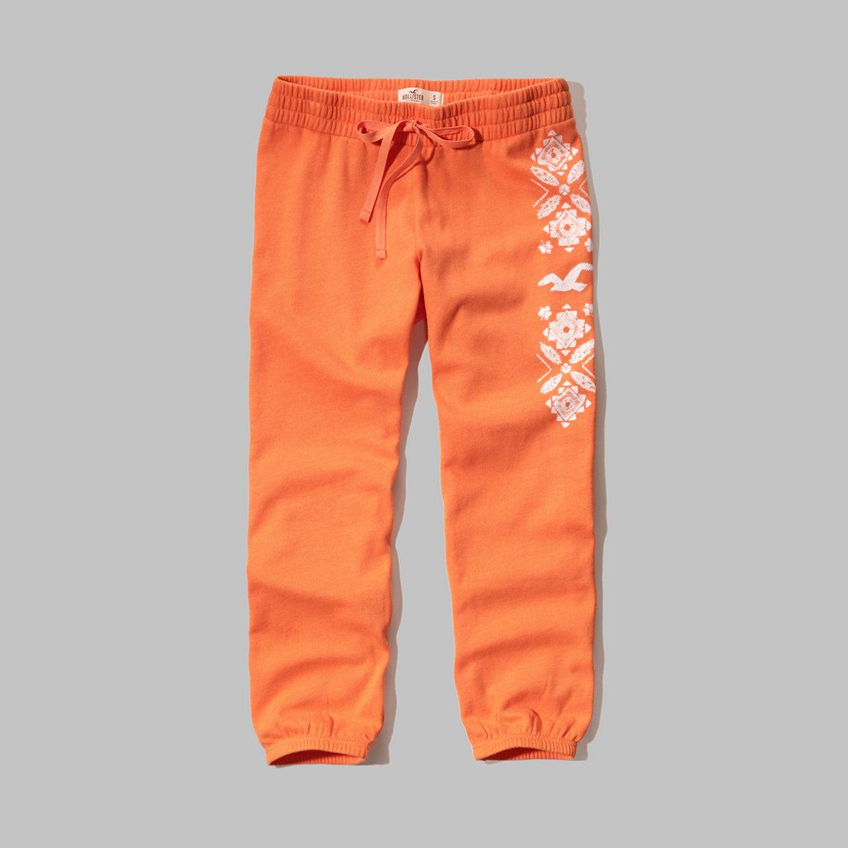 Hollister Banded Crop Sweatpants