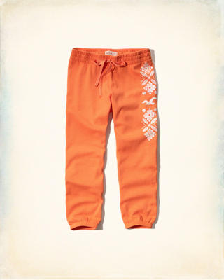 Hollister Banded Crop Sweatpants