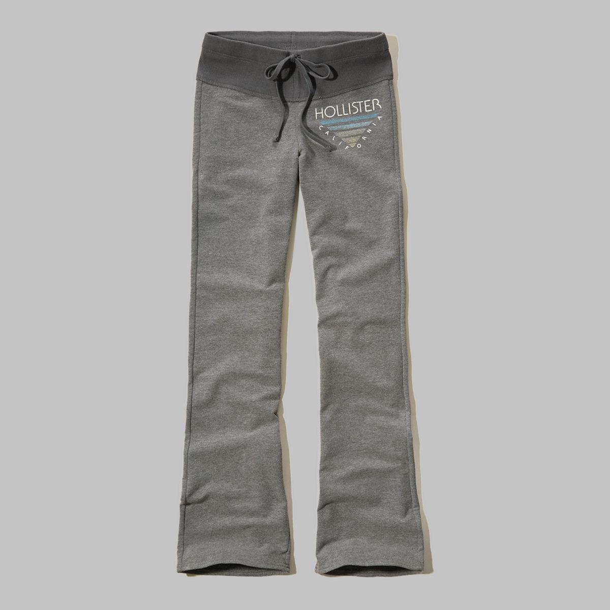 Hollister Graphic Flare Sweatpants