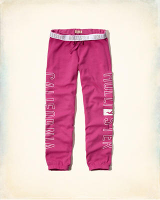 Hollister Banded Boyfriend Sweatpants