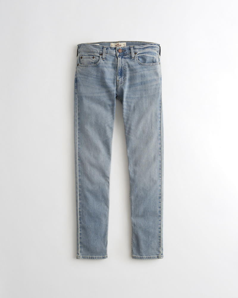 Guys Hollister Epic Flex Skinny Jeans | Guys Bottoms ...