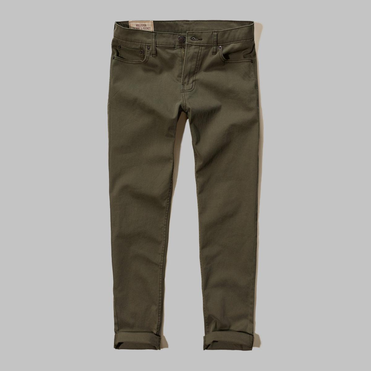Hollister Skinny 5 Pocket Zipper Fly Pants