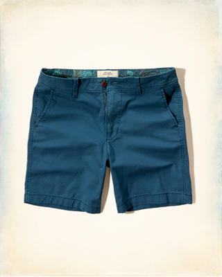 Hollister Beach Prep Fit Twill Shorts