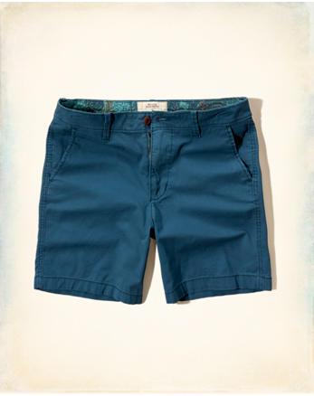 hol Hollister Beach Prep Fit Shorts
