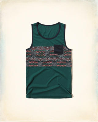 Contrast Pocket Tank