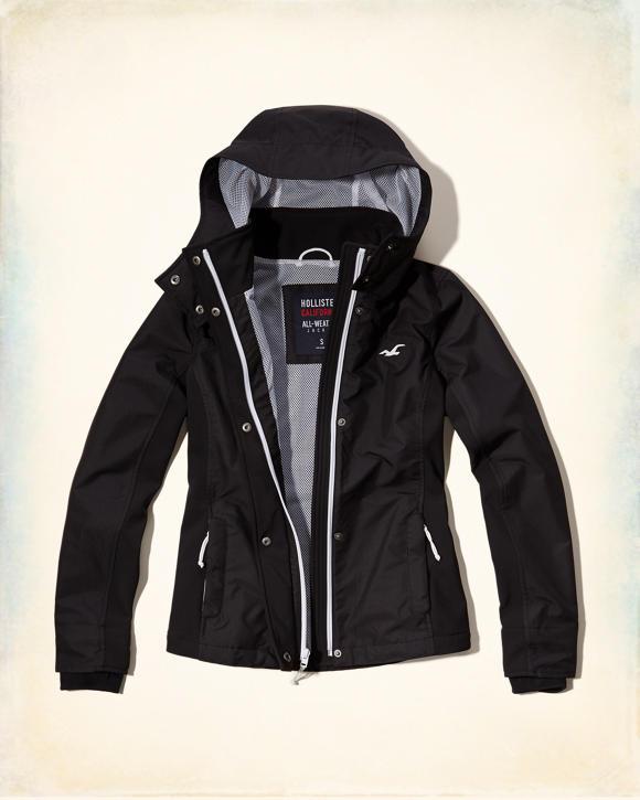 Girls Hollister All-Weather Jacket | Girls Jackets ...