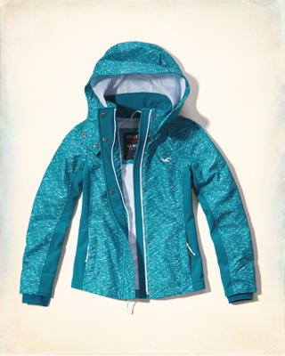 Hollister Mesh Lined All-Weather Jacket