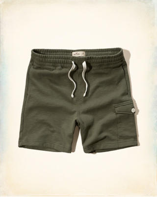 Hollister Beach Prep Fit Jogger Shorts