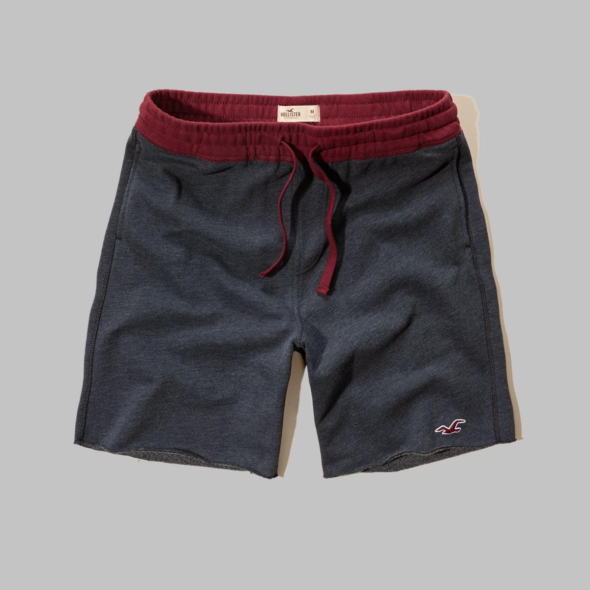 Hollister Icon Fleece Jogger Shorts