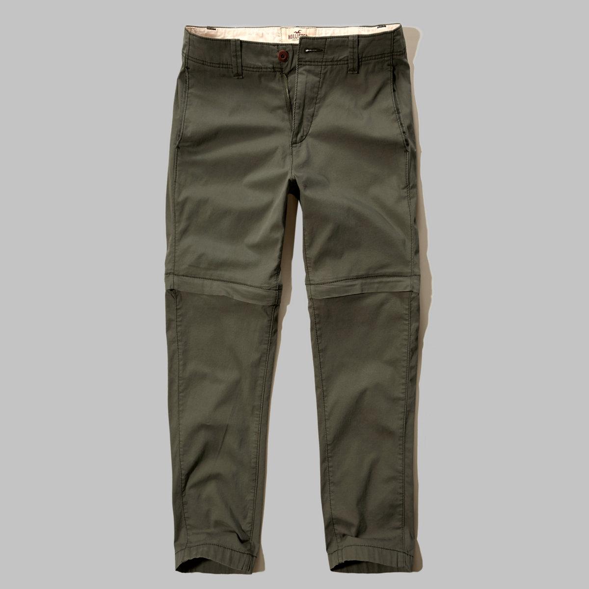 Convertible Twill Pants
