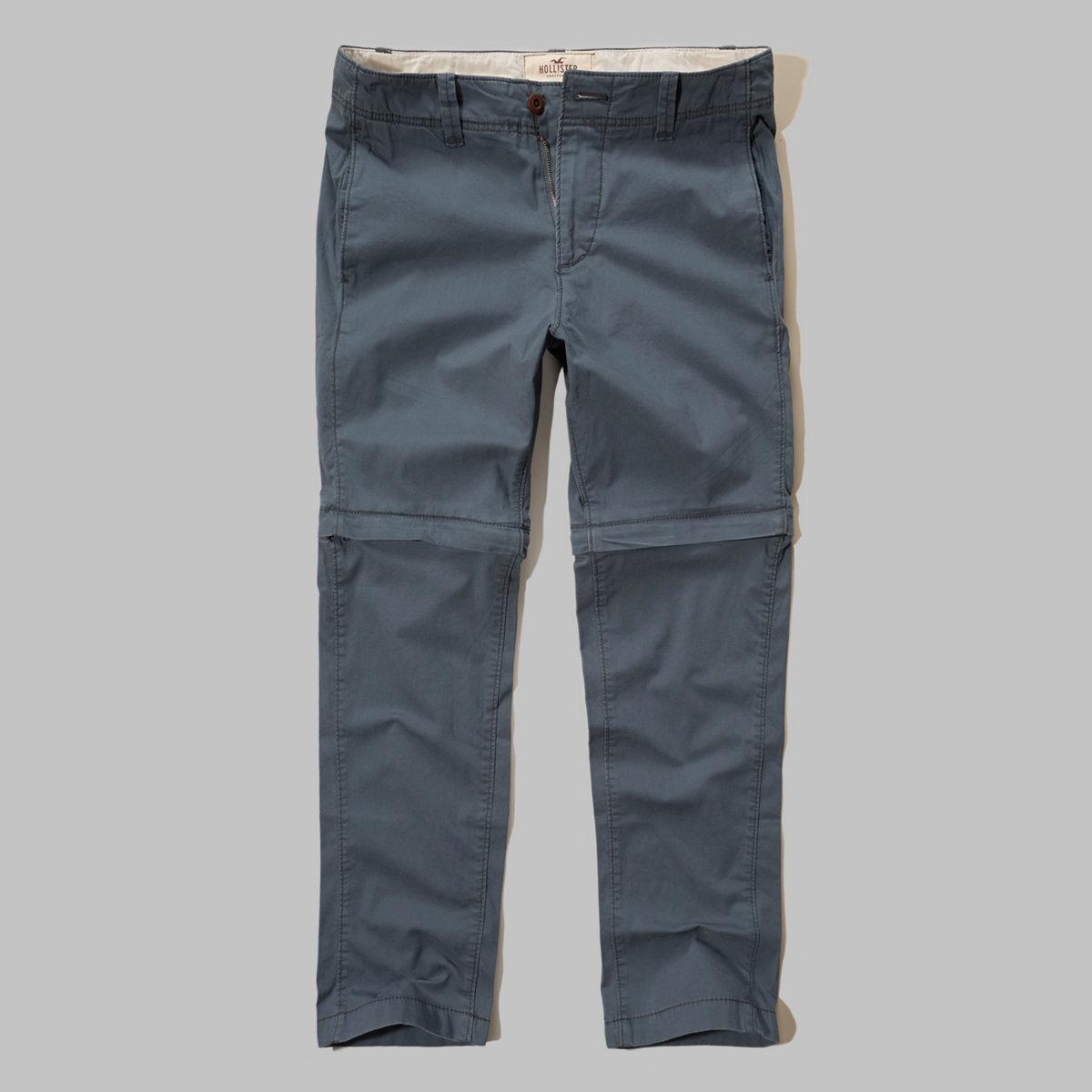 Hollister Zipaway Zipper Fly Pants