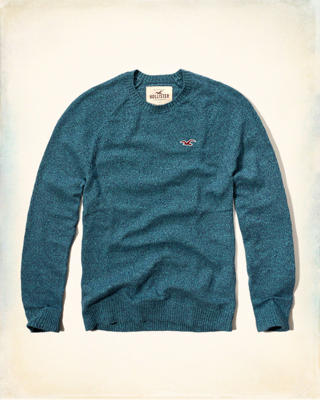 Iconic Crew Sweater