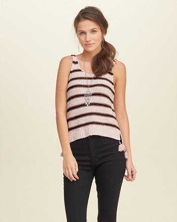 Tassel Sweater Tank
