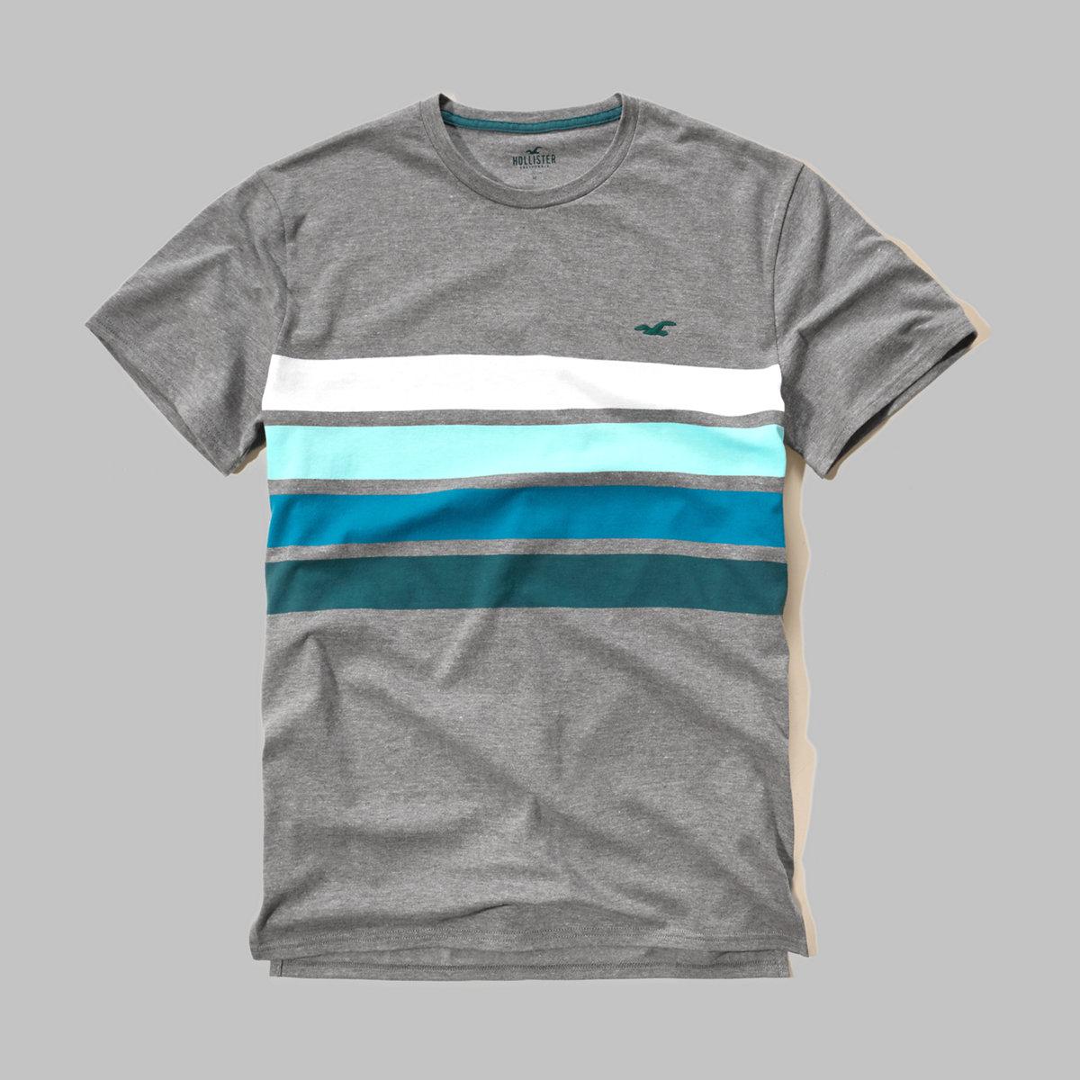 Stripe Icon T-Shirt