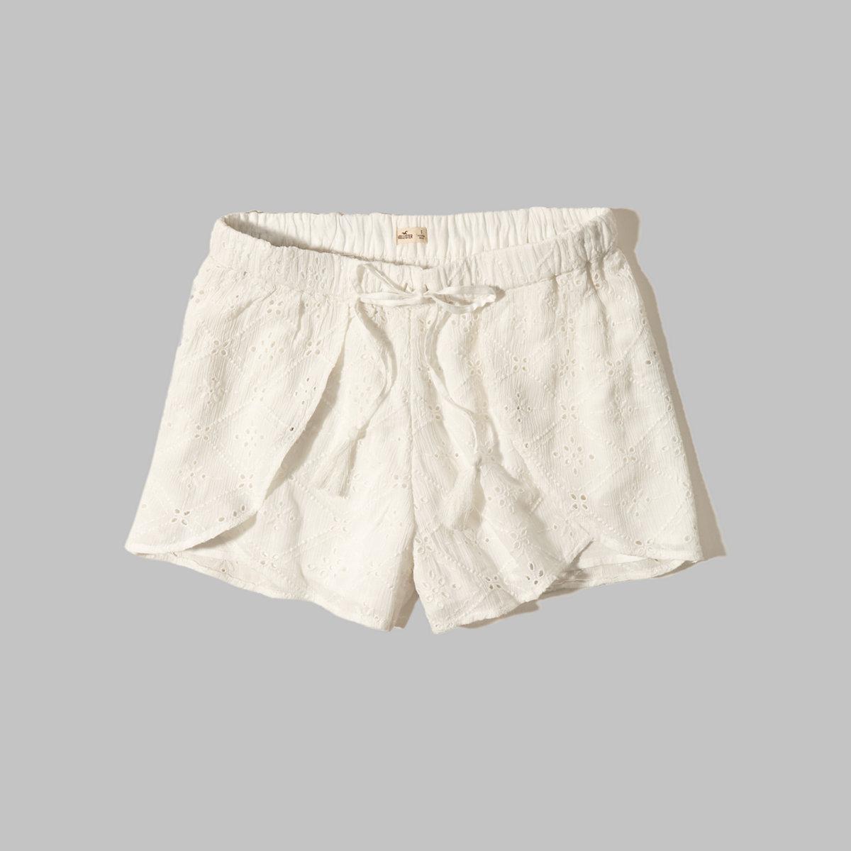 Lace Petal Shorts