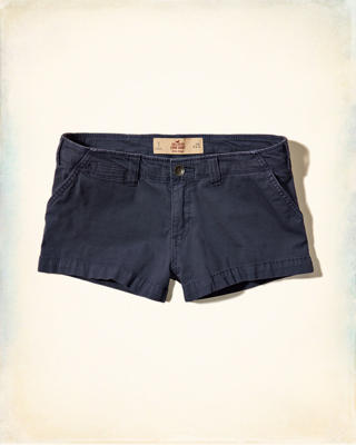 Low Rise Chino Short-Shorts