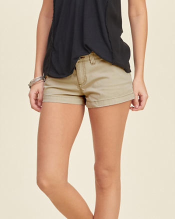 Low Rise Chino Shorts