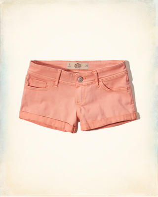 Hollister Low-Rise Twill Short-Shorts