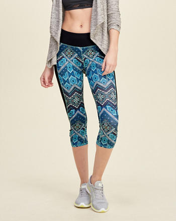 Hollister Cali Sport Cropped Leggings