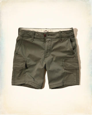 Hollister Beach Prep Fit Cargo Shorts
