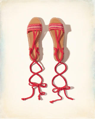 Braided Espadrille Sandals