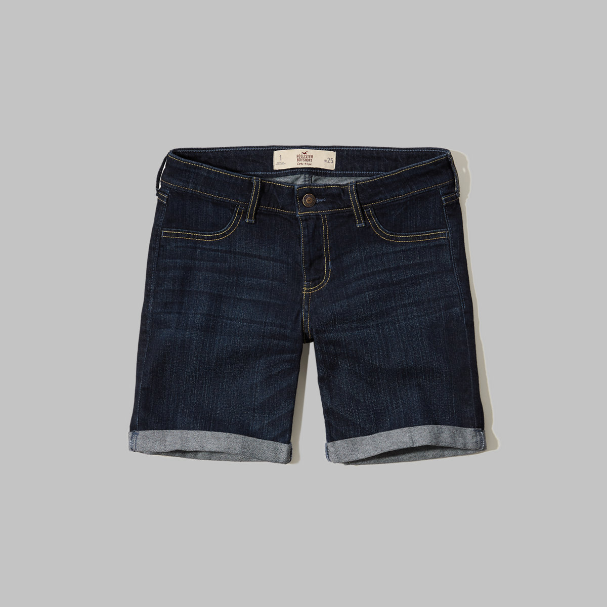 Low Rise Denim Boyshorts