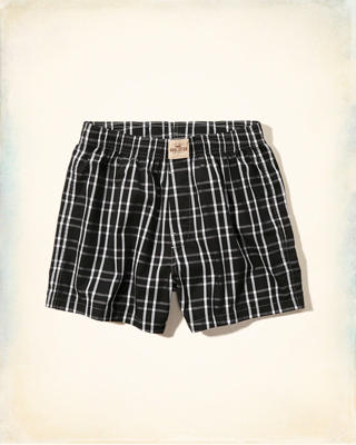 Hollister Plaid Boxers
