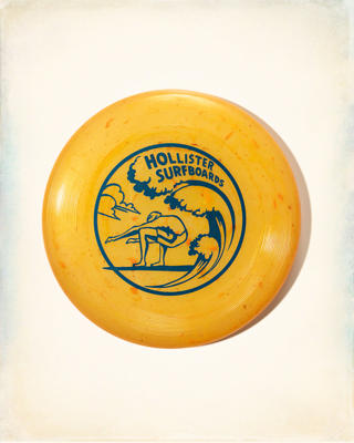 Hollister Logo Flying Disc