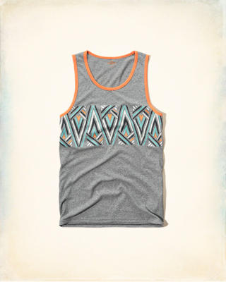 Patterned Contrast Tank