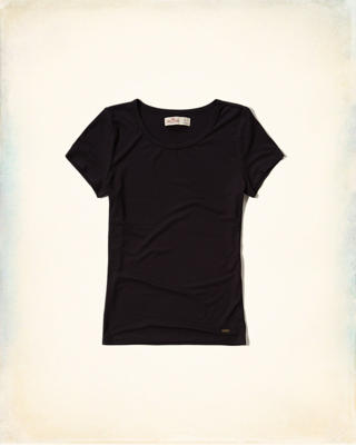 Must-Have Slim Ribbed T-Shirt
