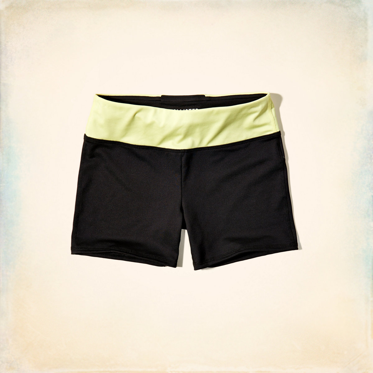 Contrast Bike Shorts