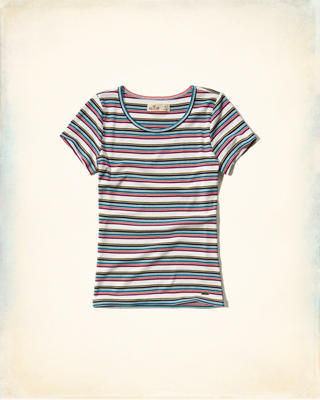 Must-Have Ribbed Baby Tee