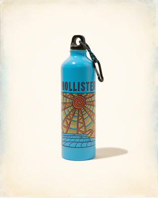 Logo Graphic Water Bottle
